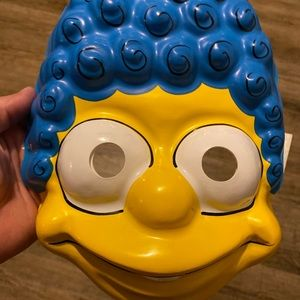 Vintage 1989 The Simpson's MARGE Mask BRAND NEW